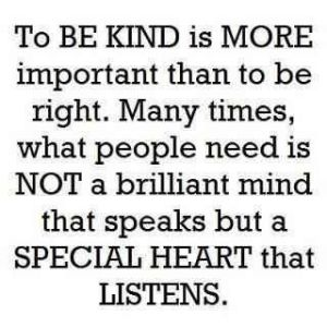 special heart that listens